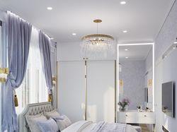 Дизайн визуализация спальни