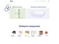 Адаптивный интернет-магазин этикеток и упаковок