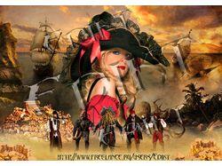 Пиратская красавица