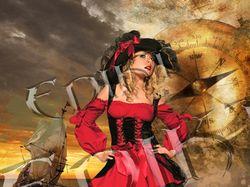 Пиратская красавитца