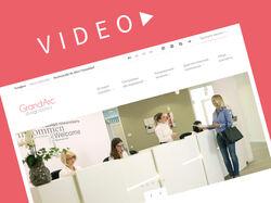 Дизайн сайта европейской клиники