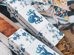 Дизайн упаковки для доставки суши