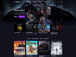 Интернет-магазин игр