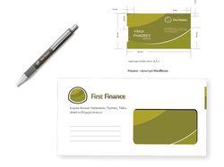 Фирменный стиль First Finance