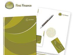 Фирменный стиль First Finance 2
