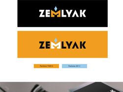Дизайн логотипа ZEMLYAK