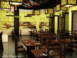 Визуал ресторана