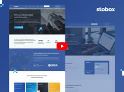 Разработка сайта блокчейн компании Stobox