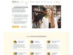 Редизайн сайта для компании WISMOlabs