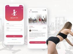 Мобильное приложение   Фитнес клуб