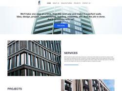 Разработка дизайна сайта, верстка и реализация