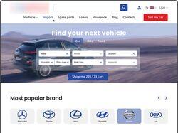 Редизайн домашней страницы marketplace