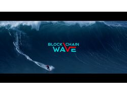 Blockchain wave promo