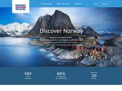Сайт планирования путешествий по Норвегии