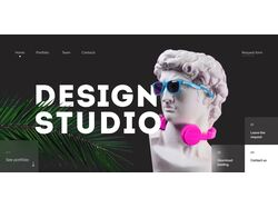 DesignStudio 1st screen