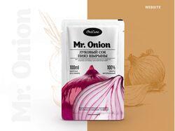 Дизайн сайта производителя лукового сока