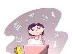 Иллюстрация для рекламы в Инстаграмм