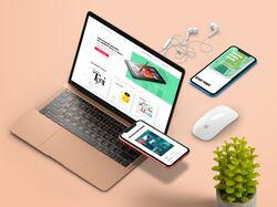 Разработка лендинга под Desktop, Tablet, Mobile