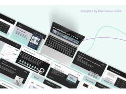 Презентация онлайн-магазина для инвесторов