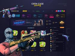 GMDROP.GG - opening of cases