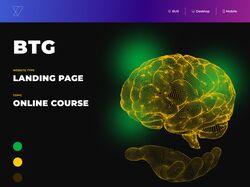 Примеры работ: Дизайн сайтов (landing page)