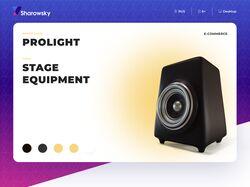 Примеры работ: Дизайн сайтов (интернет-магазин)