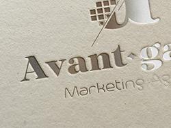 Логотип для маркетингового агенства Avant-garde