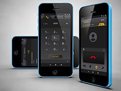 Дизайн мобильного приложение для звонков