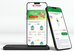 Дизайн мобильного приложения гипермаркета Манна