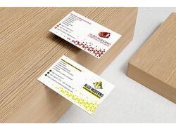 Business card for Algo Moderno company