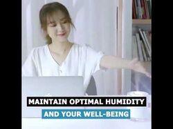 Видео-креатив H2O humidifier 1