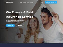 Одностраничный сайт о бизнес продукте