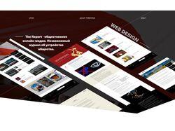 Дизайн для сайта политического онлайн-медиа