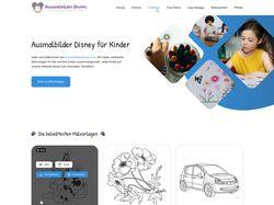 Сайт Ausmalbilder für Kinder