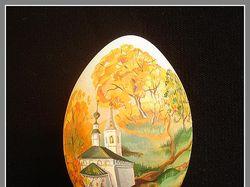 """Яйцо """"Осень""""."""
