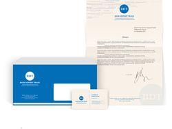 Логотип и фирменный стиль для банка