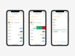 Информация о согласовании ТС клиента в iOS