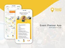 APP design || Event planner
