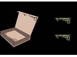 Разработка упаковки и схема развертки для нее
