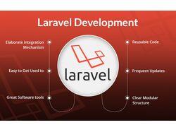 Сайт на laravel