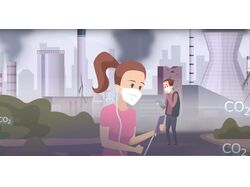 Анимационный ролик для компании Mirai