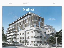 Marinist / Website Design