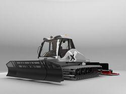 3d модель Prinoth Bison-X