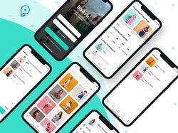 Дизайн приложение интернет-магазина женской одежды