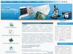 "Сайт компании ""RK Electronics"""
