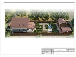 разработка проекта участка, дома и строений на нём