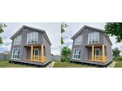 Дизайн участка дома