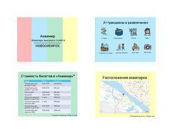 Пробная презентация для новосибирского аквапрка