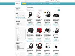 Интернет магазин на Open Cart