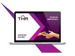 Фирменный стиль для компании THR